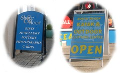 We produce a large range of complimentary signage including banners, 'A' boards and window graphics to enhance your business